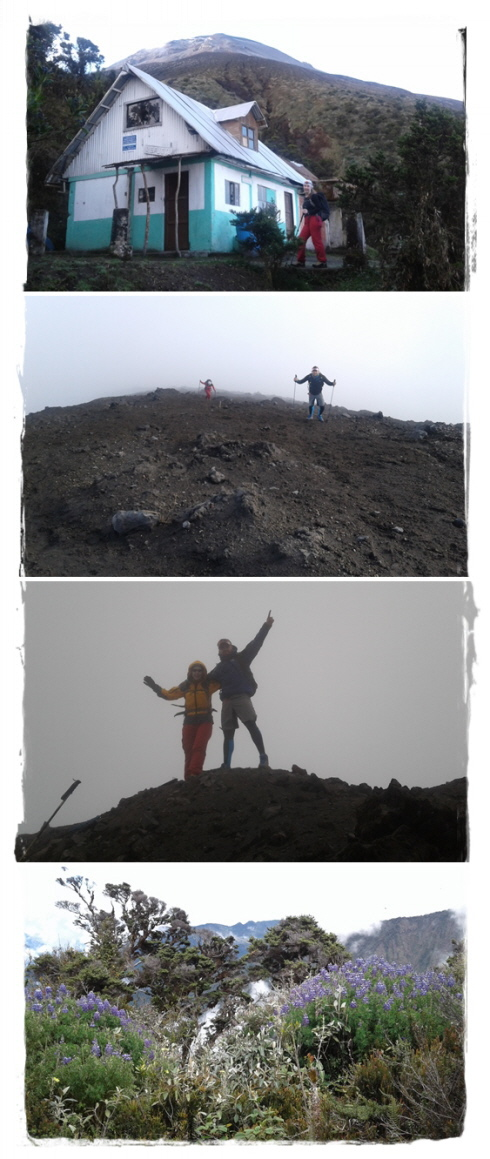 ascent to Tungurahua (5.023 m / 16,480 ft)