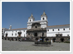 historic center Quito